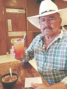 Courtesy photo Valentin Cortez is a retired truck driver and mechanic and is also a U.S. Army veteran. Here he is having lunch in a restaurant while on vacation in Guatamala this year.
